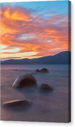 Tahoe Burning Canvas Print