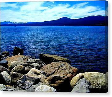 Canvas Print featuring the photograph Tahoe Magic by Bobbee Rickard