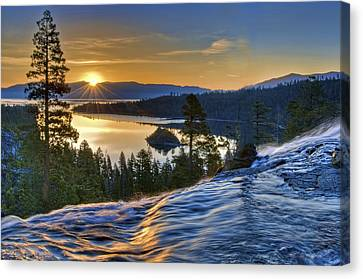 Tahoe Sunrise Canvas Print