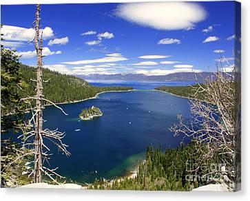 Tahoe's Emerald Bay Canvas Print