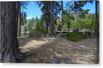 Canvas Print featuring the photograph Tahoe's Summer Invitation by Bobbee Rickard