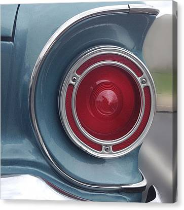 Tail Light Ford Falcon 1961 Canvas Print by Don Spenner
