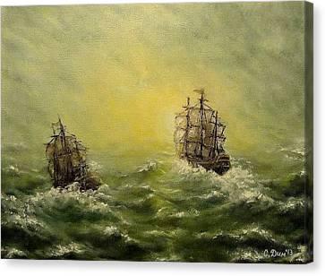 Tailwind Canvas Print by Svetla Dimitrova