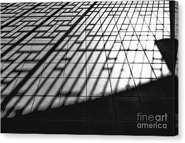 Taipei Railway Station Canvas Print by Dean Harte