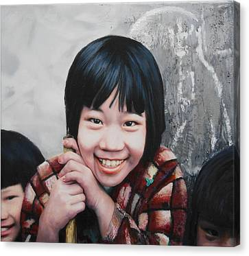 Taipei Twins Canvas Print