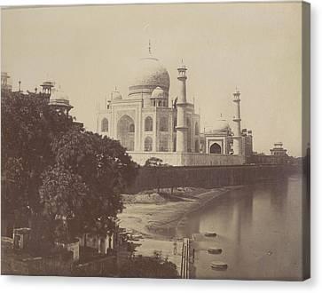 South Asia Canvas Print - Taj Mahal by British Library