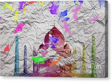 Taj Mahal Canvas Print by Image World