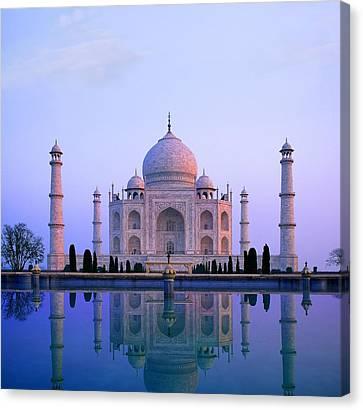 Taj Mahal, India Canvas Print by Indian School