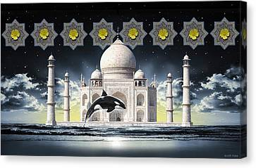 Taj Canvas Print by Scott Ross