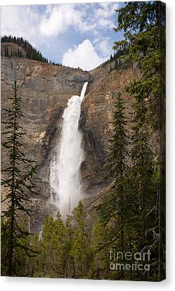 Canvas Print featuring the photograph Takakkaw Falls by Chris Scroggins