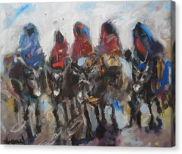 Take A Ride Canvas Print by Negoud Dahab