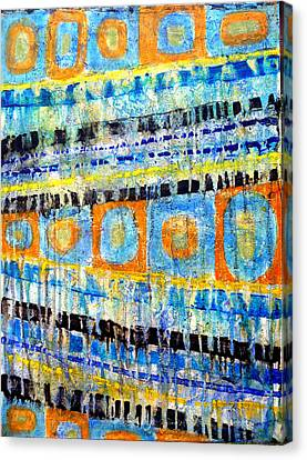 Canvas Print featuring the painting Take Five by Jim Whalen