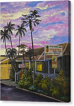 Tropical Sunset Canvas Print - Take Home Maui by Darice Machel McGuire
