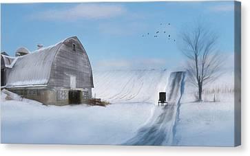 Take Me Home Canvas Print by Lori Deiter