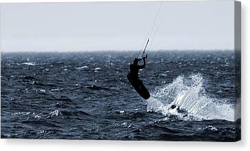 Take Off Canvas Print by Dan Sproul