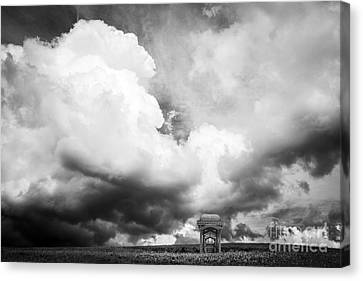 Irony Canvas Print - Take The A Train To Nowhere by Edward Fielding