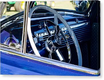 Take The Wheel Canvas Print by Bernard  Barcos