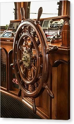 Take The Wheel Canvas Print by Dale Kincaid