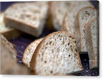 Take This Bread And Eat It Canvas Print
