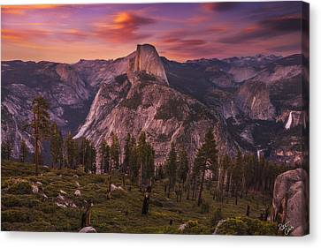Taken For Granite  Canvas Print by Peter Coskun