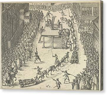 Taken To Execution Canvas Print by British Library