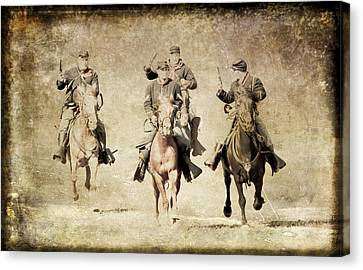 Taking Charge  Canvas Print by Athena Mckinzie