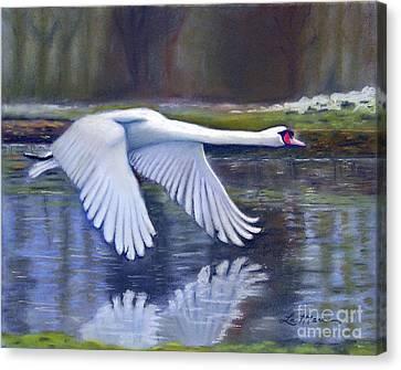 Taking Flight Canvas Print by Lamarr Kramer
