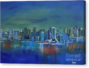 Tale Of 4 Cities Canvas Print