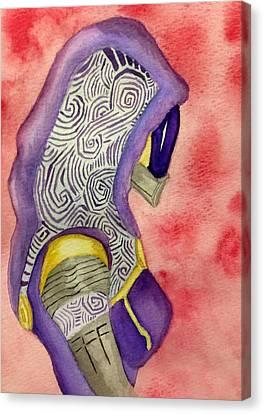 Tali Vas Normandy Canvas Print by Trevor Garner