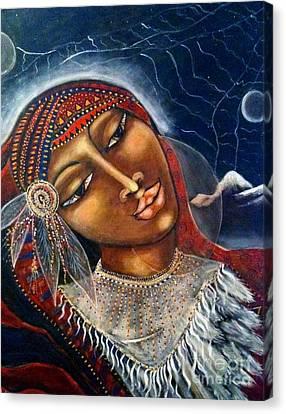 Taliswoman Canvas Print by Maya Telford