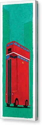 Tall Bus Canvas Print