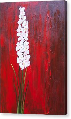 Tall Flower Canvas Print