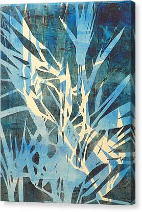 Tall Grass 2 Canvas Print by Valerie Lynch