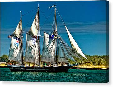 Tall Ship Canvas Print by Steve Harrington