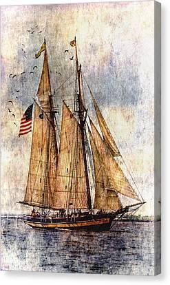 Tall Ship Canvas Print - Tall Ships Art by Dale Kincaid