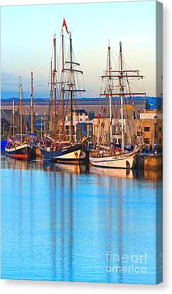 Tall Ships Canvas Print by Bill  Robinson