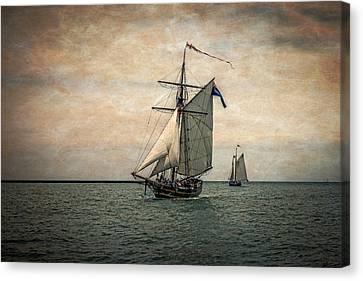Tall Ships Festival, Digitally Altered Canvas Print
