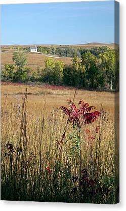 National Preserves Canvas Print - Tallgrass Prairie by Jim West
