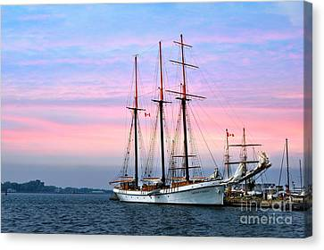 Tallship Empire Sandy Canvas Print