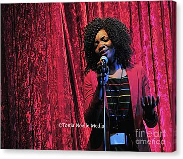 Tamara Stephens Canvas Print by Tonia Noelle
