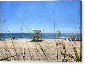Tamarack Beach Canvas Print by Ann Patterson