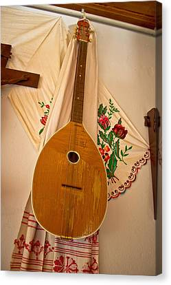 Tamburica Croatian Traditional Music Instrument Canvas Print