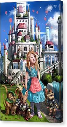 Tammy In Capira Canvas Print