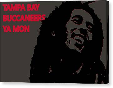 Tampa Bay Buccaneers Ya Mon Canvas Print by Joe Hamilton