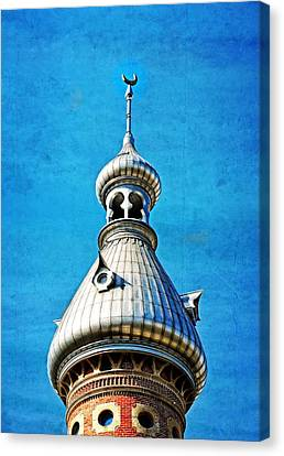 Tampa Beauty - University Of Tampa Photography By Sharon Cummings Canvas Print by Sharon Cummings