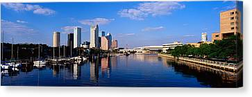 Tampa Fl Canvas Print by Panoramic Images