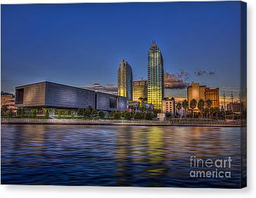 Tampa Museum Canvas Print by Marvin Spates