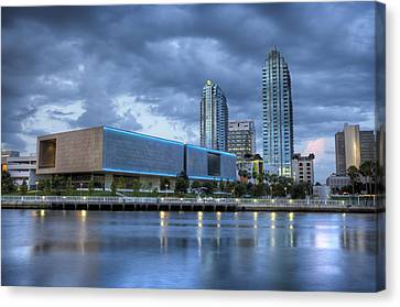 Tampa Museum Of Art Canvas Print by Al Hurley
