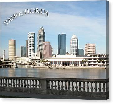 Tampa Skyline Canvas Print