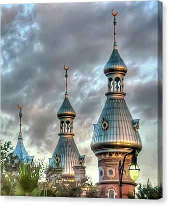 Tampa University Minarets Canvas Print